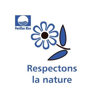 Panneau sensibilisation Nature